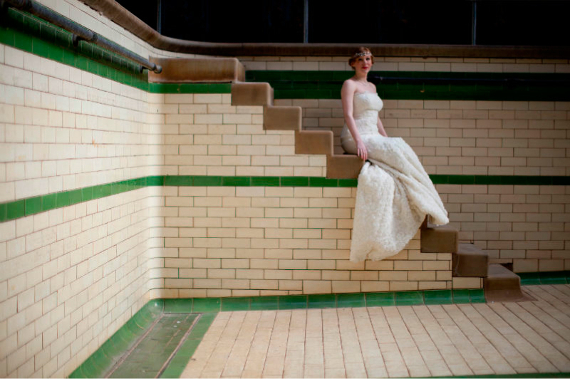 Melanie James Bridal Boutique Victoria Baths