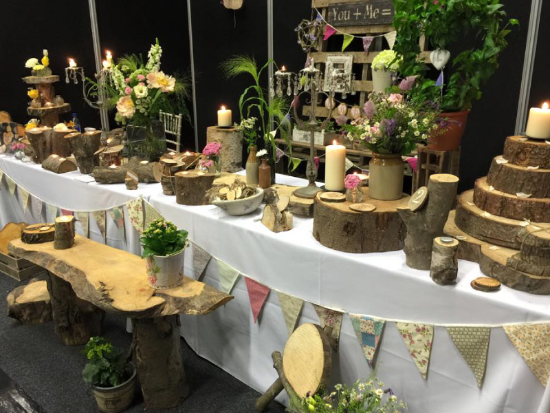 Rustic Wedding Settings Manchester Wedding Fayre